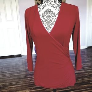 White House Black Market red top